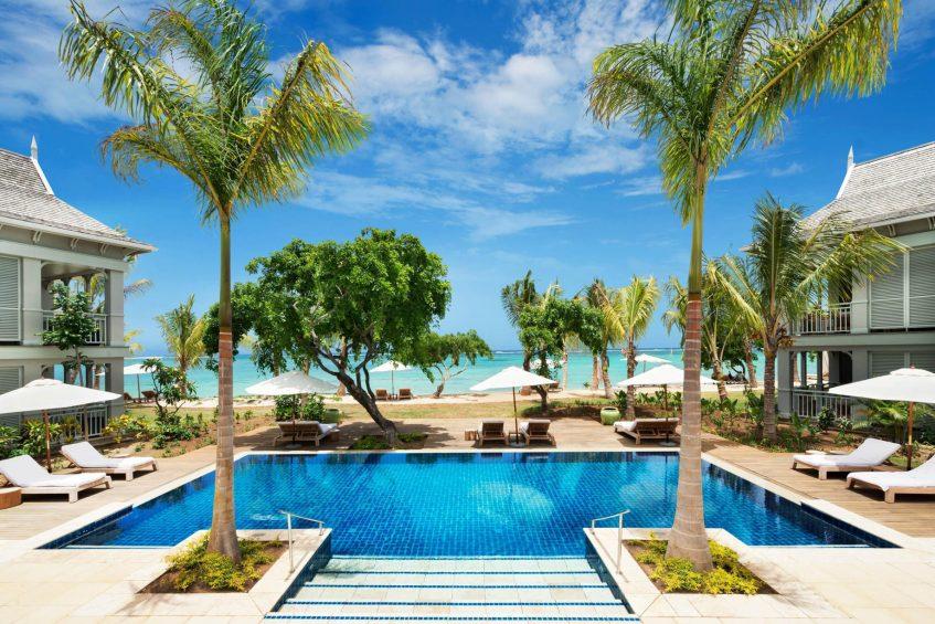 The St. Regis Mauritius Luxury Resort - Mauritius - Resort Garden Pool