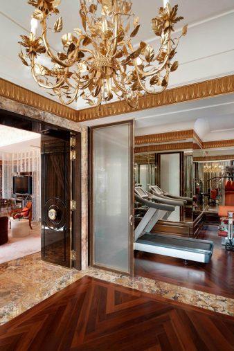 The St. Regis Singapore Luxury Hotel - Singapore - Presidential Suite Gym