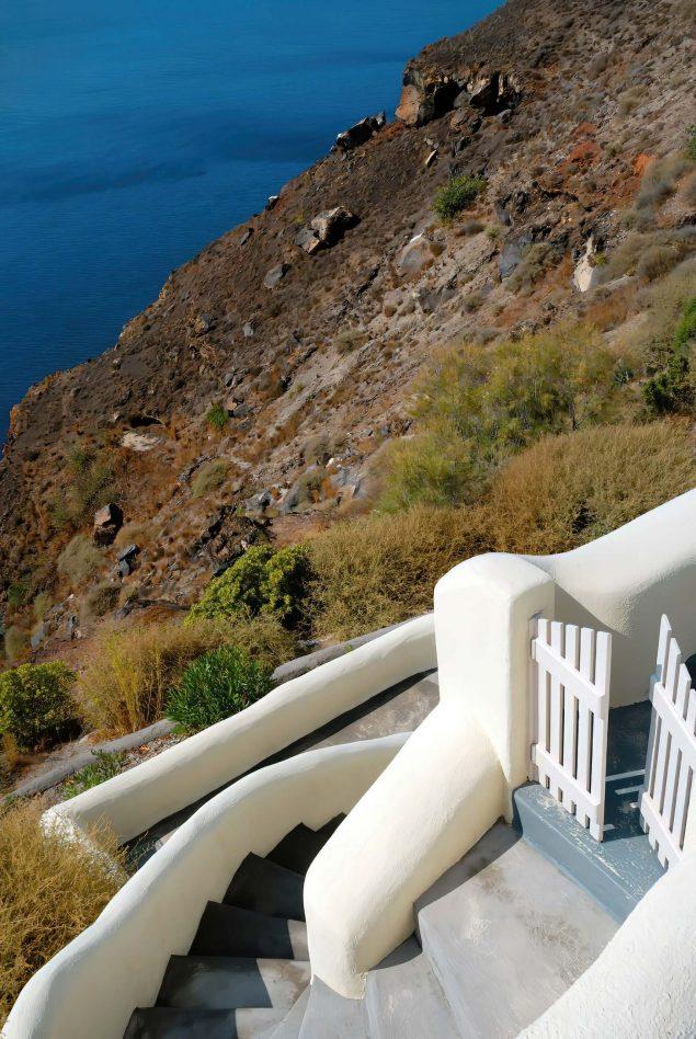 Mystique Luxury Hotel Santorini – Oia, Santorini Island, Greece - Cycladic Architecture Stairs