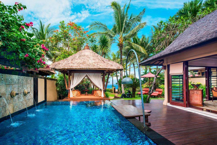 The St. Regis Bali Luxury Resort - Bali, Indonesia - Strand Villa Private Pool and Gazebo