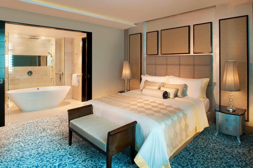 The St. Regis Bangkok Luxury Hotel - Bangkok, Thailand - Grand Metropolitan Suite King Bedroom