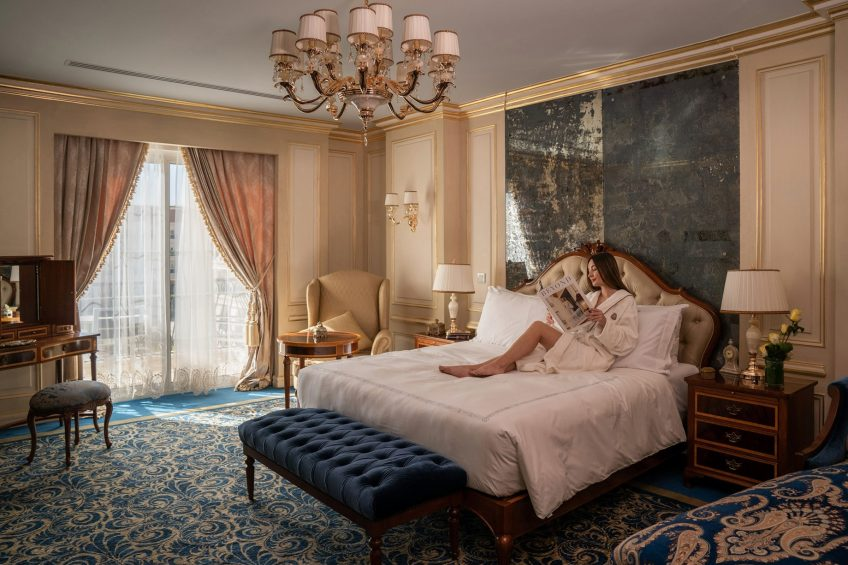 The St. Regis Almasa Luxury Hotel - Cairo, Egypt - Luxurious Rooms