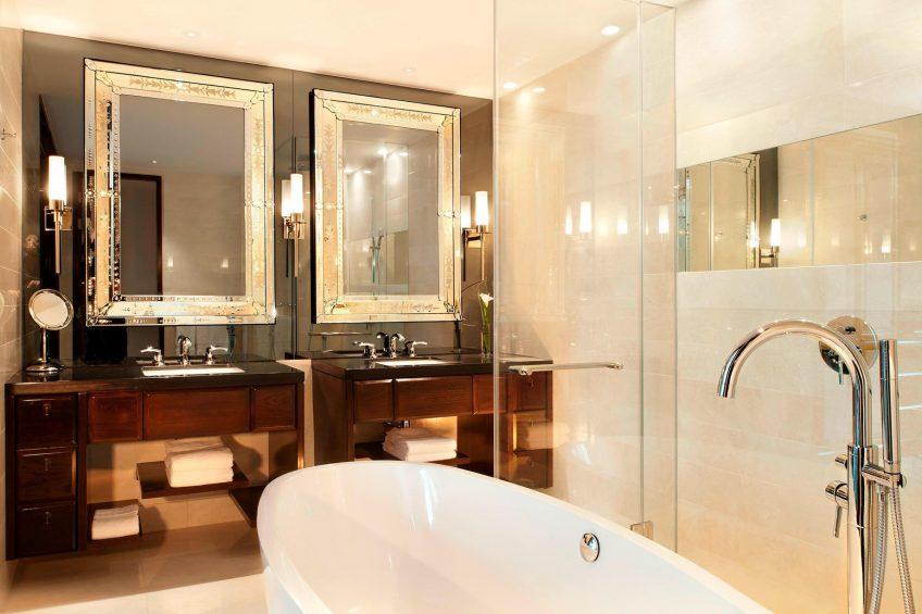 The St. Regis Bangkok Luxury Hotel - Bangkok, Thailand - Metropolitan Suite Bathroom