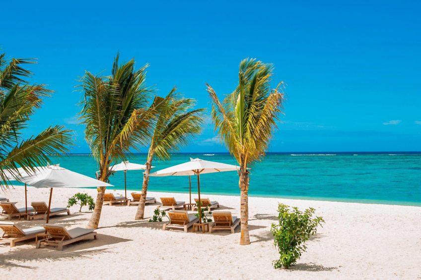 The St. Regis Mauritius Luxury Resort - Mauritius - Le Morne Private Beach