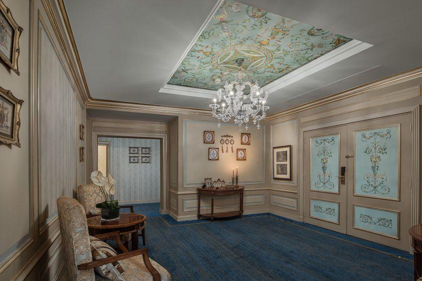 The St. Regis Almasa Luxury Hotel - Cairo, Egypt - Royal Suite Entrance