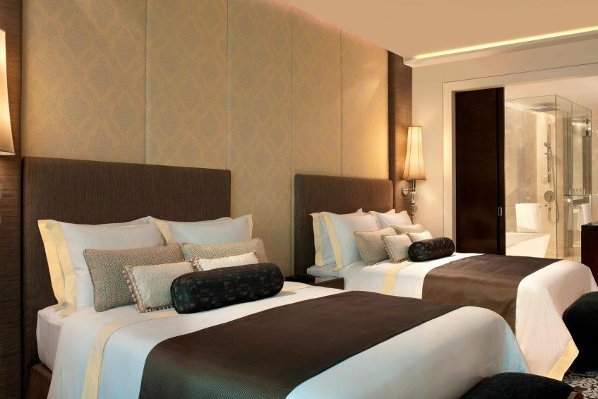 The St. Regis Bangkok Luxury Hotel - Bangkok, Thailand - Double Deluxe Guest Room
