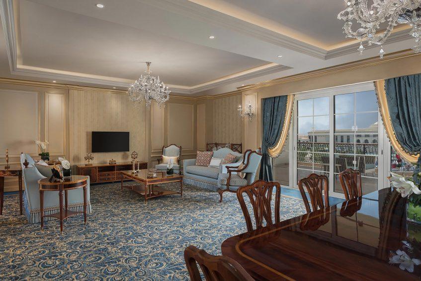 The St. Regis Almasa Luxury Hotel - Cairo, Egypt - Royal Suite Living Area