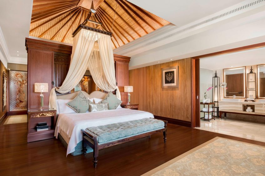 The St. Regis Bali Luxury Resort - Bali, Indonesia - Grand Astor Suite Kig Bedroom