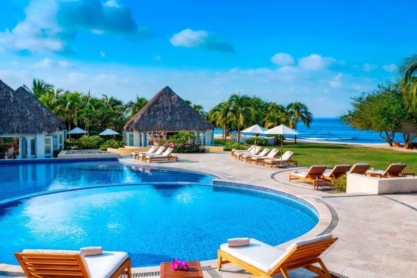 The St. Regis Punta Mita Luxury Resort - Nayarit, Mexico - Las Marietas Family Pool