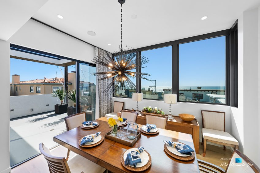 246 30th Street, Hermosa Beach, CA, USA - Dining Room Ocean View