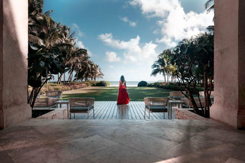 The St. Regis Bahia Beach Luxury Resort - Rio Grande, Puerto Rico - Entrance