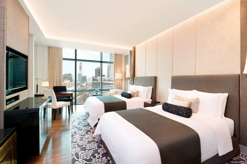 The St. Regis Bangkok Luxury Hotel - Bangkok, Thailand - Double Grand Guest Room City View