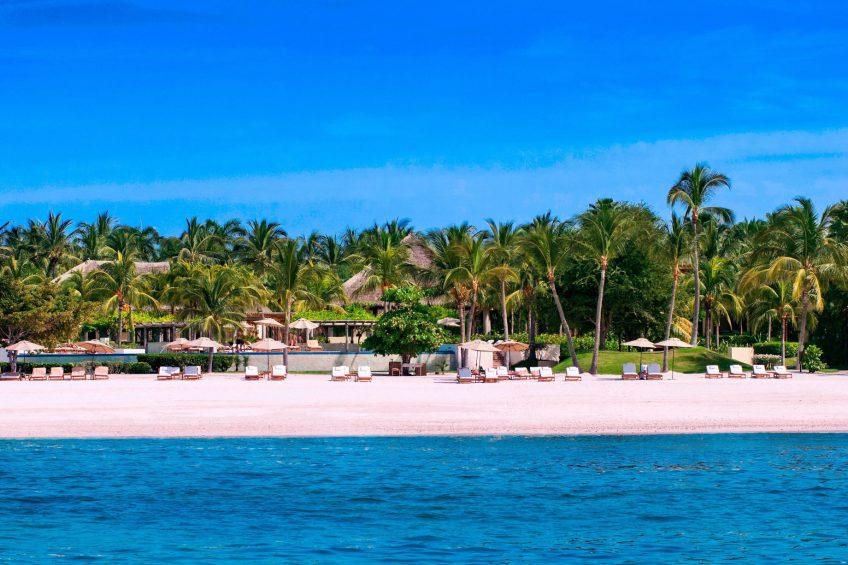 The St. Regis Punta Mita Luxury Resort - Nayarit, Mexico - Exterior Beach View