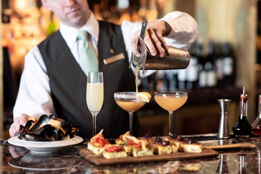 The St. Regis Washington D.C. Luxury Hotel - Washington, DC, USA - St. Regis Bar Service