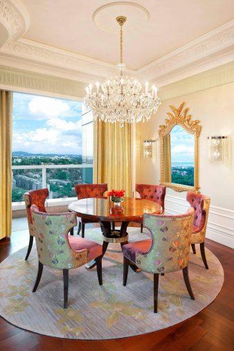 The St. Regis Singapore Luxury Hotel - Singapore - Astoria Suite Dining