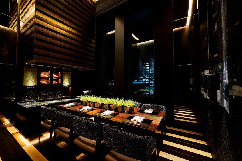 The St. Regis Osaka Luxury Hotel - Osaka, Japan - Teppanyaki Restaurant WAJO Souan Room