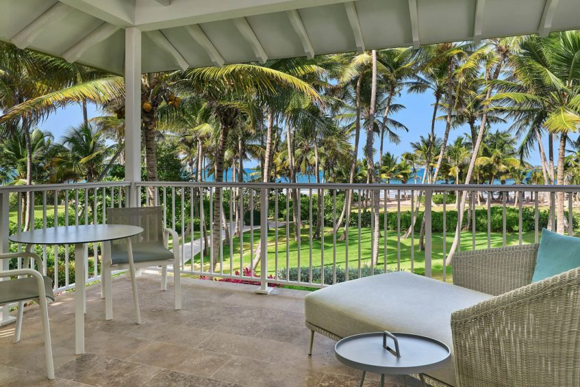 The St. Regis Bahia Beach Luxury Resort - Rio Grande, Puerto Rico - Deluxe Ocean Front Balcony