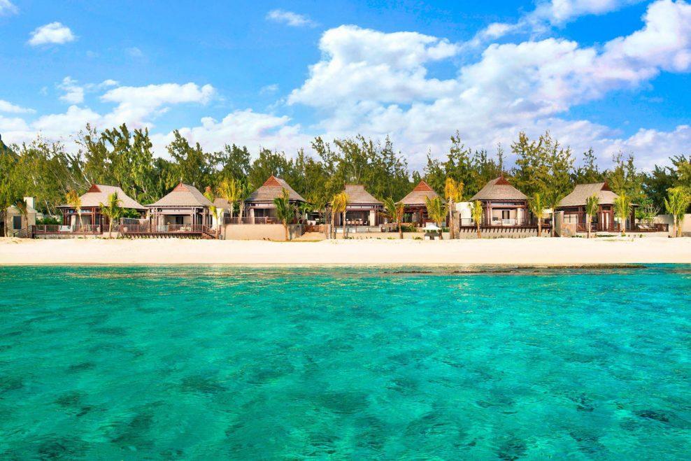 The St. Regis Mauritius Luxury Resort - Mauritius - St. Regis Villa from the Sea