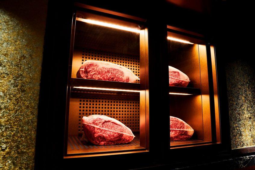 The St. Regis Osaka Luxury Hotel - Osaka, Japan - Teppanyaki Restaurant WAJO Meat Cellar