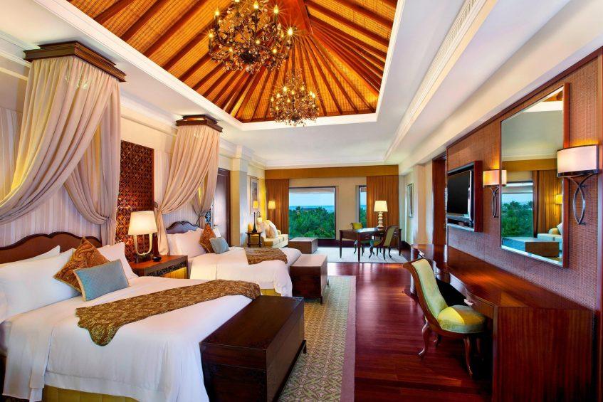 The St. Regis Bali Luxury Resort - Bali, Indonesia - Grand Astor Suite Twin Bedroom