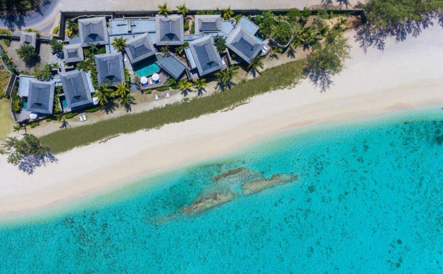 The St. Regis Mauritius Luxury Resort - Mauritius - Resort Overhead View