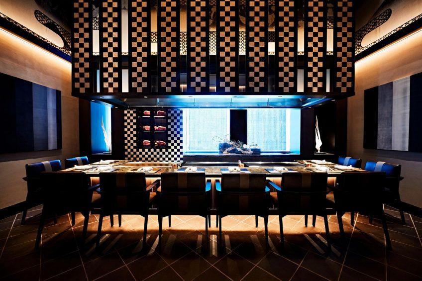 The St. Regis Osaka Luxury Hotel - Osaka, Japan - Teppanyaki Restaurant WAJO Taian Room