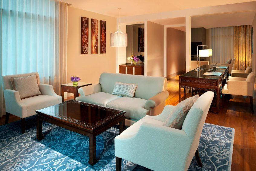 The St. Regis Bangkok Luxury Hotel - Bangkok, Thailand - Metropolitan Suite Living Room