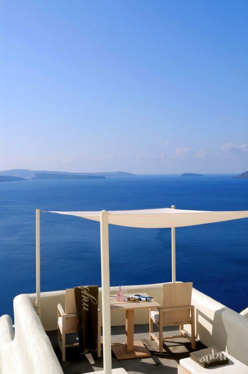 Mystique Luxury Hotel Santorini – Oia, Santorini Island, Greece - Clifftop Balcony Ocean View