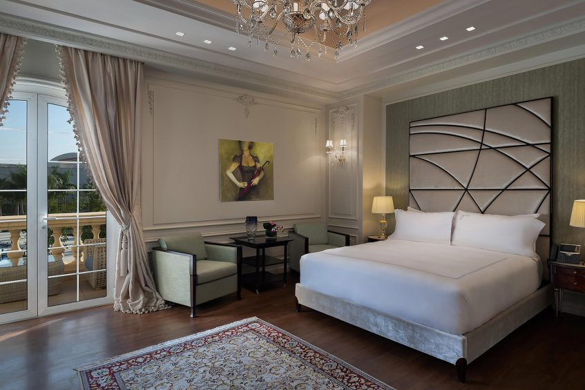 The St. Regis Almasa Luxury Hotel - Cairo, Egypt - Villa Master Bedroom