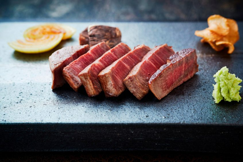 The St. Regis Osaka Luxury Hotel - Osaka, Japan - Teppanyaki Restaurant WAJO Steak