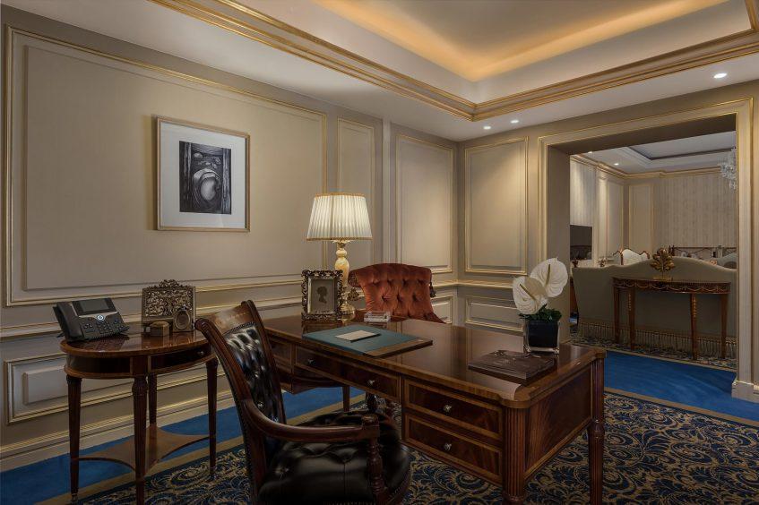 The St. Regis Almasa Luxury Hotel - Cairo, Egypt - Royal Suite Office Room
