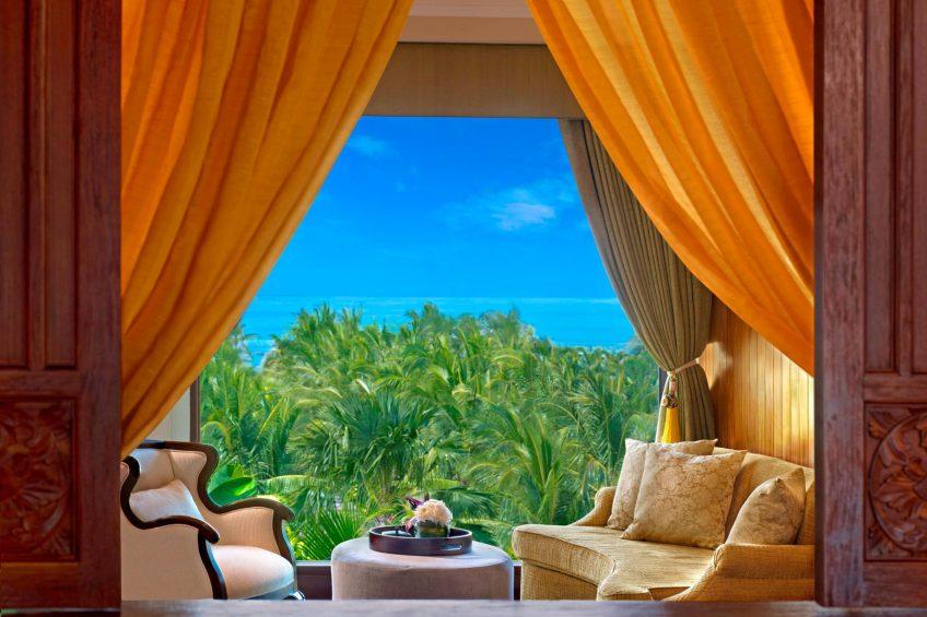 The St. Regis Bali Luxury Resort - Bali, Indonesia - Grand Astor Suite Master Bedroom