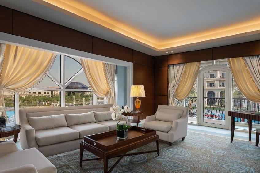 The St. Regis Almasa Luxury Hotel - Cairo, Egypt - Astor Suite Living Area