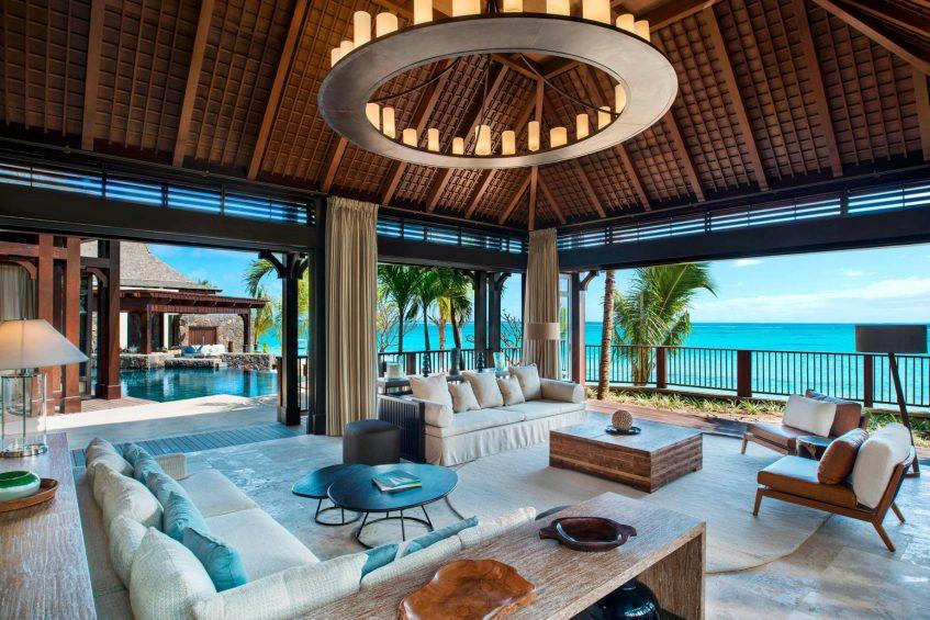 The St. Regis Mauritius Luxury Resort - Mauritius - The St. Regis Villa Formal Lounge