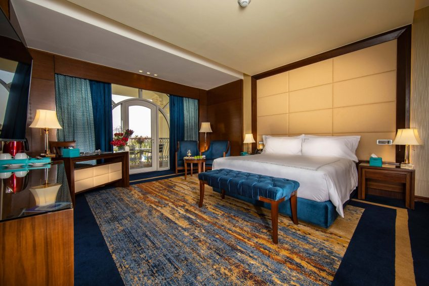 The St. Regis Almasa Luxury Hotel - Cairo, Egypt - Superior King Bedroom