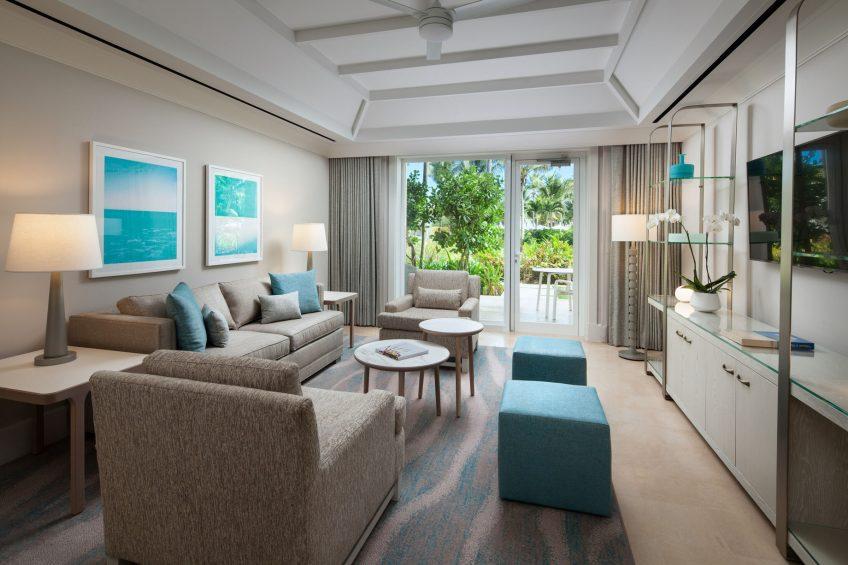 The St. Regis Bahia Beach Luxury Resort - Rio Grande, Puerto Rico - King Garden View Suite Living Room