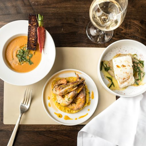 The St. Regis Washington D.C. Luxury Hotel - Washington, DC, USA - Gourmet Prawn Dish
