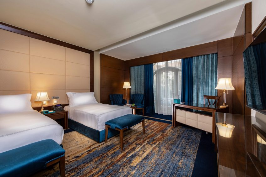 The St. Regis Almasa Luxury Hotel - Cairo, Egypt - Superior Double Bedroom