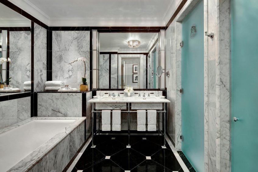 The St. Regis New York Luxury Hotel - New York, NY, USA - Suite Bathroom