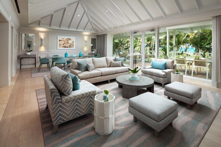 The St. Regis Bahia Beach Luxury Resort - Rio Grande, Puerto Rico - Governors Suite Living Area