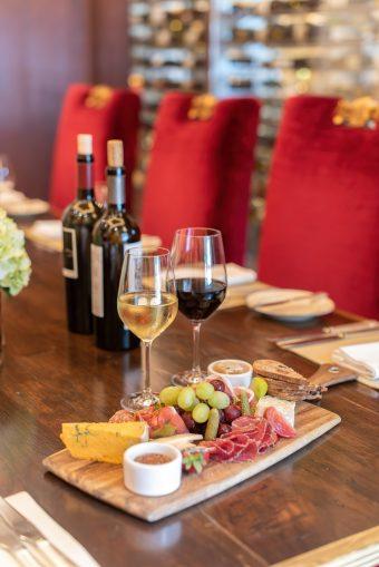 The St. Regis Washington D.C. Luxury Hotel - Washington, DC, USA - Alhambra Restaurant Wine and Appitizer Platter