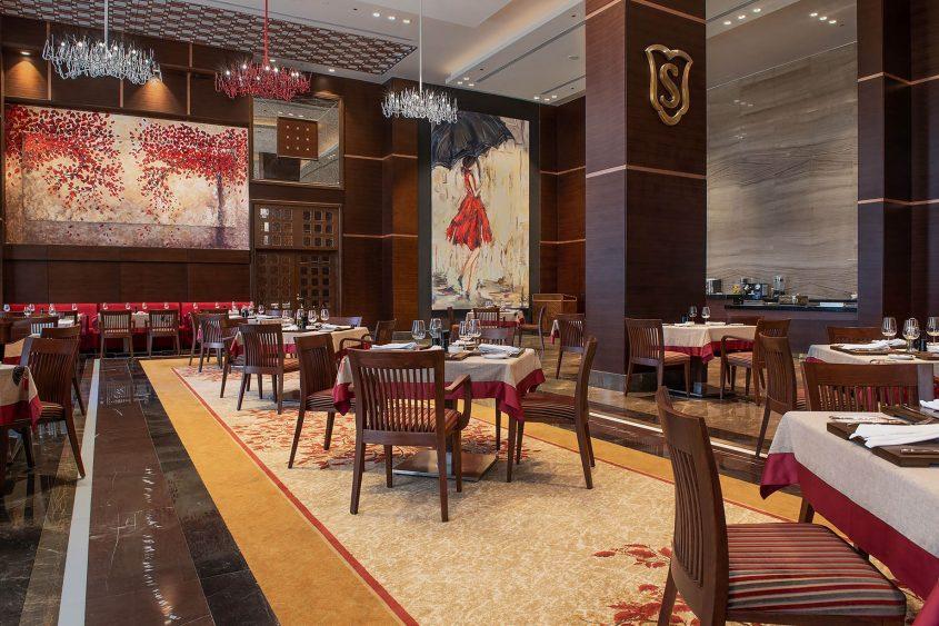 The St. Regis Almasa Luxury Hotel - Cairo, Egypt - La Sponda Restaurant