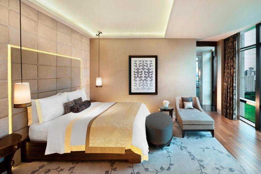 The St. Regis Bangkok Luxury Hotel - Bangkok, Thailand - Royal Suite Bedroom
