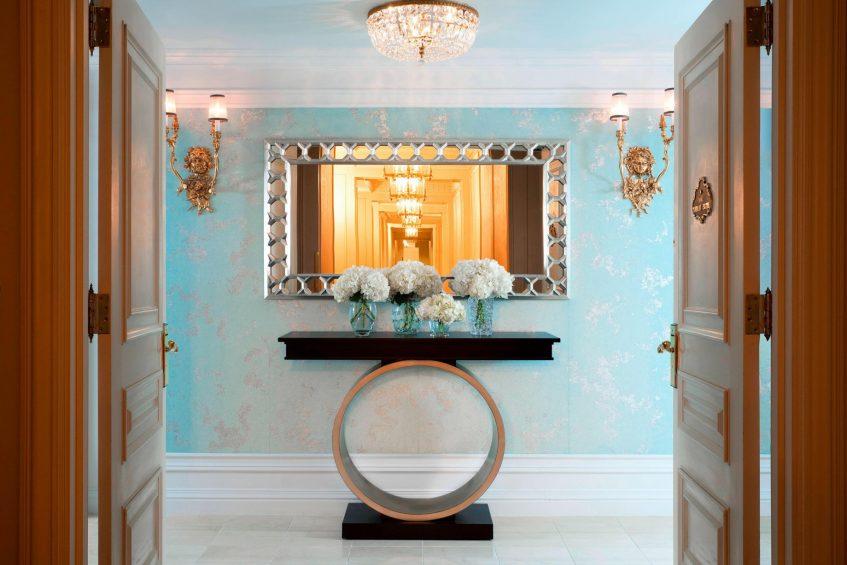The St. Regis New York Luxury Hotel - New York, NY, USA - Tiffany Suite Entrance