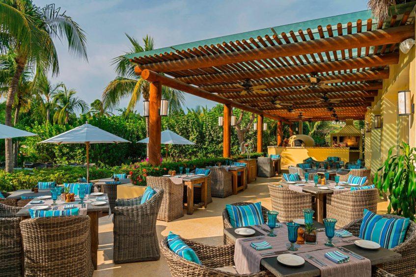 The St. Regis Punta Mita Luxury Resort - Nayarit, Mexico - Sea Breeze Restaurant Terrace