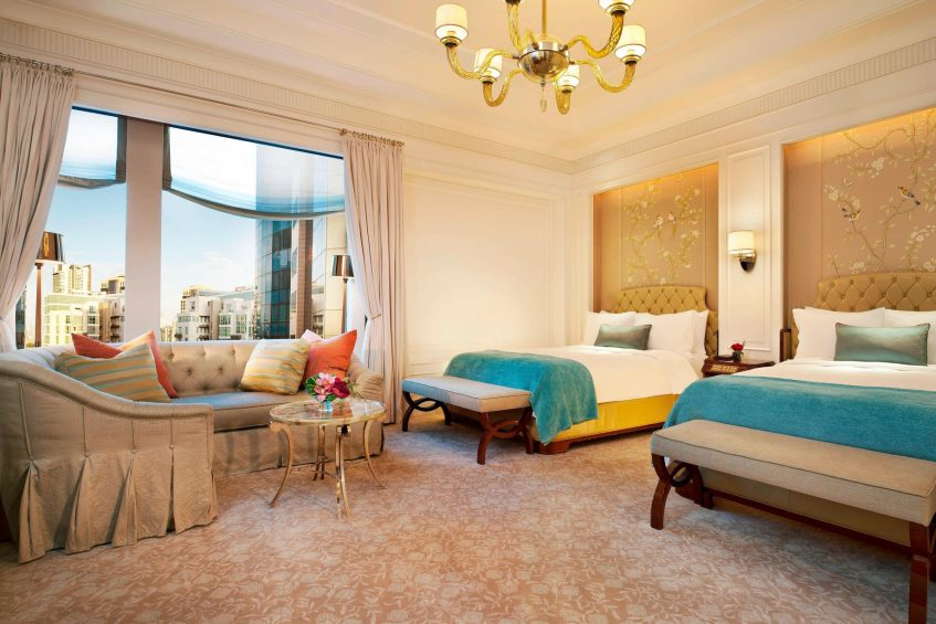 The St. Regis Singapore Luxury Hotel - Singapore - Lady Astor Guest Bedroom