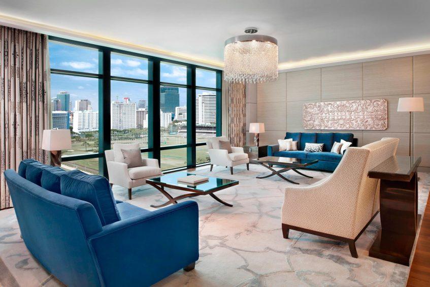 The St. Regis Bangkok Luxury Hotel - Bangkok, Thailand - Royal Suite Living Area