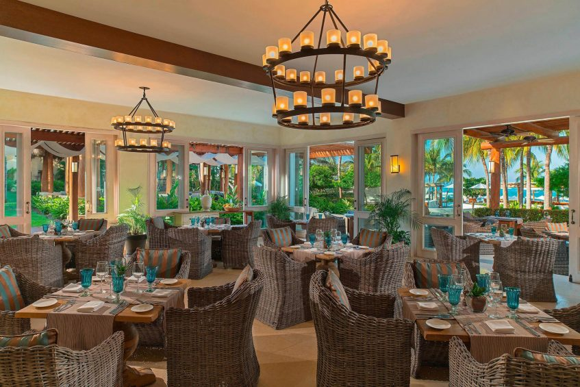 The St. Regis Punta Mita Luxury Resort - Nayarit, Mexico - Sea Breeze Restaurant