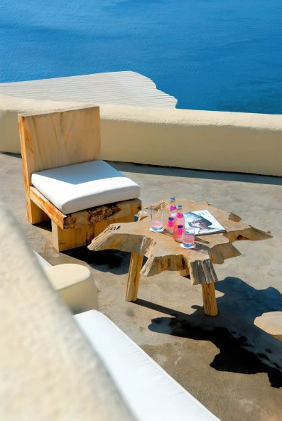 Mystique Luxury Hotel Santorini – Oia, Santorini Island, Greece - Ocean View Deck