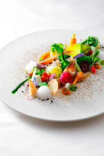 The St. Regis Osaka Luxury Hotel - Osaka, Japan - Rue d'Or Vegetarian Menu